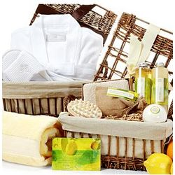 Superior Mediterranean Sun Spa Basket Set