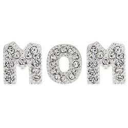 Rhinestone Mom Charm Set