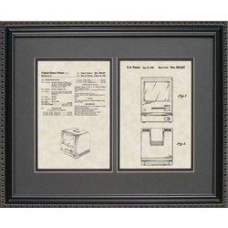 Macintosh Computer Patent Artwork Print