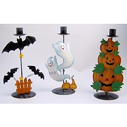 Halloween Candle Holder Set