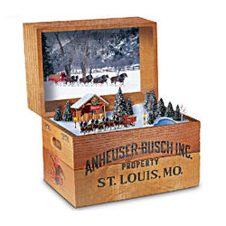 Budweiser Beer Crate Music Box