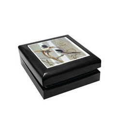 Personalized Love Is In The Air Trinket Box