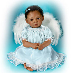 Maya, Angel of Hope Lifelike Baby Doll: