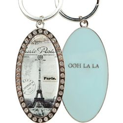 Paris Ooh La La Key Ring