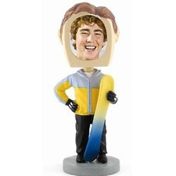 Photo Snowboarder Bobblehead
