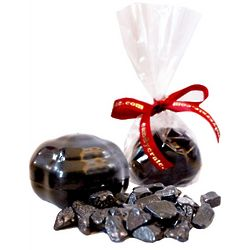 Chocolate Coal Candy Favor