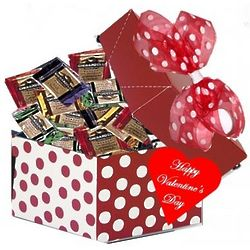 Sweet Ghirardelli Red Polka Dot Valentine's Gift Box