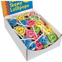 Teeny Happy Face Pops