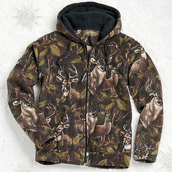 Deer Fleece Jacket