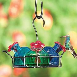 Handcrafted Hummingbird Bird Feeder
