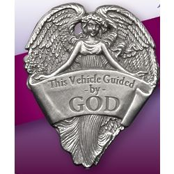 Best Friend's Guided By God Visor Clip