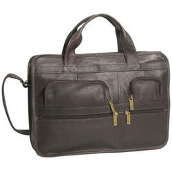 Vaquetta Leather Briefcase