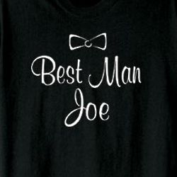 Best Man Personalized T-Shirt