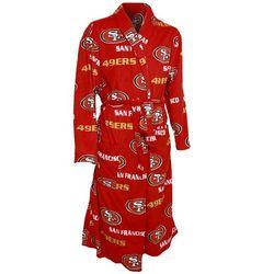 Men's San Francisco 49ers Microfleece Bathrobe