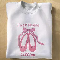 Just Dance Ballet Slippers Sweatshirt