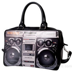 Boom Box Ghetto Blaster Weekend Bag
