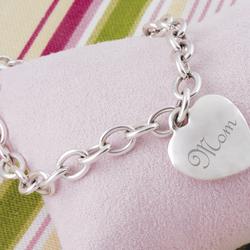 Mom's Heavy Weight Charm Bracelet