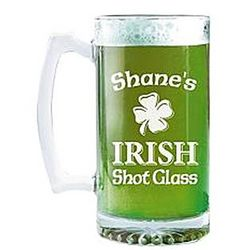 Personalized Giant Irish Beer Mug
