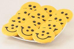 Pittsburgh Steelers Smiley Cookies