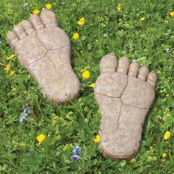 Bigfoot Left Foot Stepping Stone