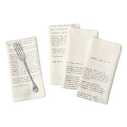 Love Letter Napkin Set