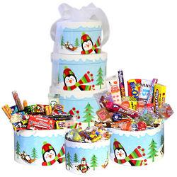 Grand Holiday Nostalgic Candy Tower