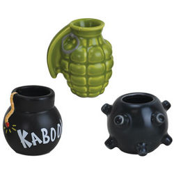 Get Bombed Shot Glass Set