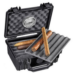 Protek 15 Count Cigar Humidor Travel Case