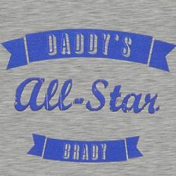 Personalized All Star Kid's Baseball T-Shirt