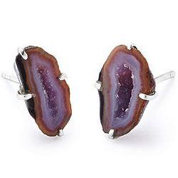 Geode Stud Earrings