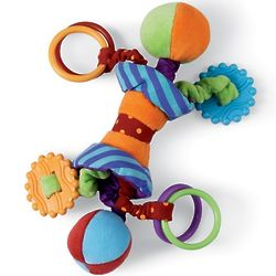 Ziggles Rattle and Teether Baby Toy