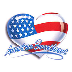 American Sweetheart Adult T-Shirt