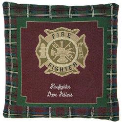 Firefighter Pillow