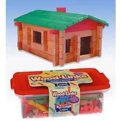 Wood-Links Log Cabin Building Set