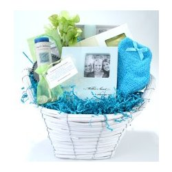 A Mother's Love Is Always with Her Children Sympathy Basket