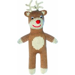 Reindeer Ralphy Hand-Knit Doll