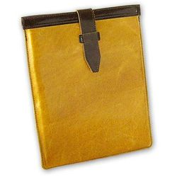 iPad Leather Slipcase with Strap