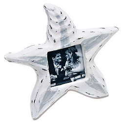 Wooden Starfish Beach Photo Frame