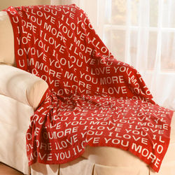 I Love You/I Love You More Throw
