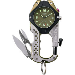 Men's Multi Function Knife Clipwatch