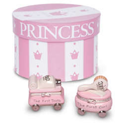 Princess First Tooth and Curl Treasure Box