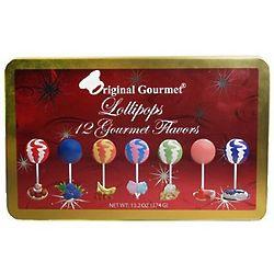 One Dozen Gourmet Lollipops