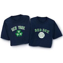 Major League Baseball Shamrock T-Shirt