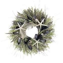 Classic Blue Ocean Wreath