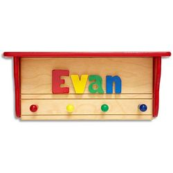 Personalized Name Puzzle Coat Rack