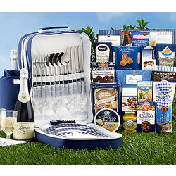 Picnic Backpack with Kiarna Sparkling Wine