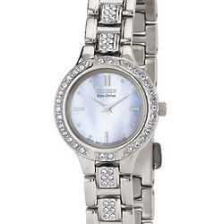 Stainless Steel Ladies' Watch & Bracelet Boxed Set