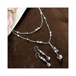 Freshwater Pearl Drop Jewelry Set