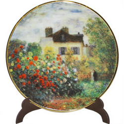 Monet's The Artist's House Mini Plate