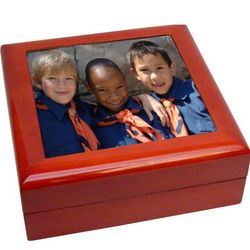 Custom Photo Memory Box
